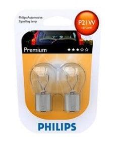 лампа philips p21w