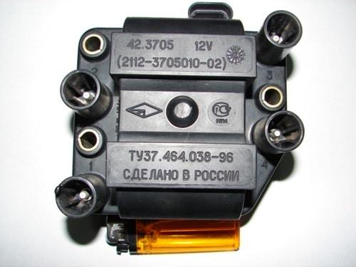 Модуль зажигания на ВАЗ 2110 и ВАЗ 2114: признаки неисправности