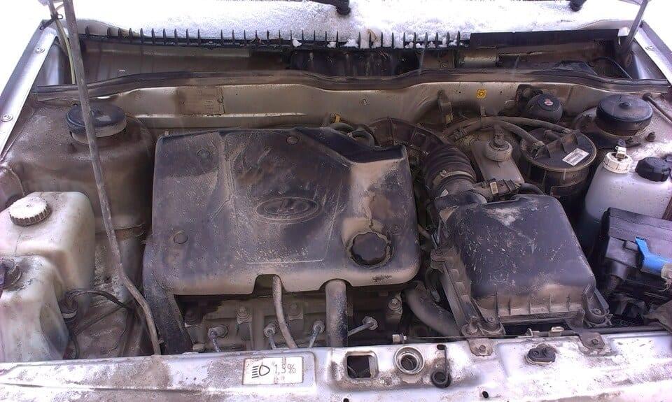 Фото №22 - вибрация по кузову на холостых ВАЗ 2110