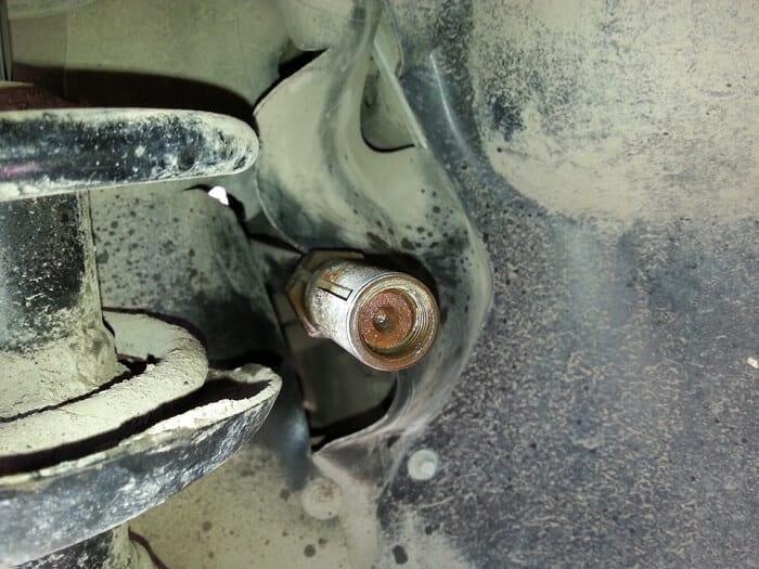Замена рулевой рейки калина видео