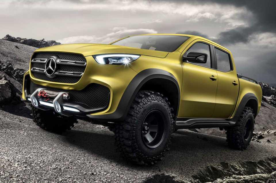 Merсedes-Benz показал первый серийный пикап