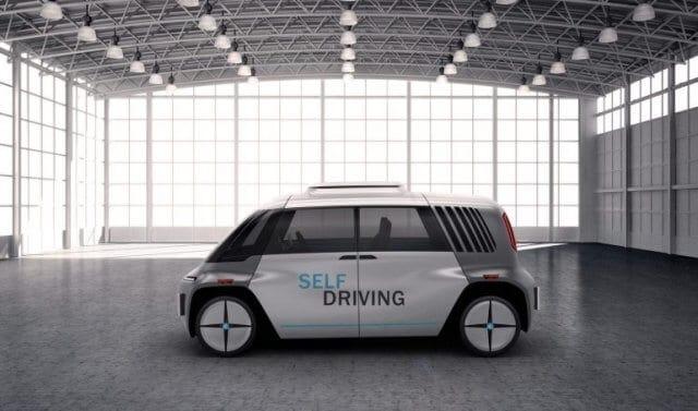 Первый в мире беспилотный автомобиль-конструктор