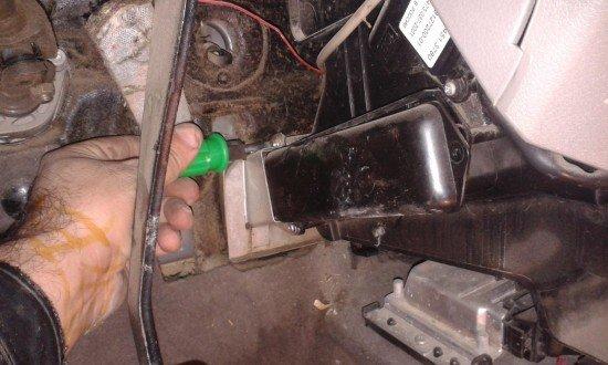 Как заменить радиатор печки на Лада Калина?