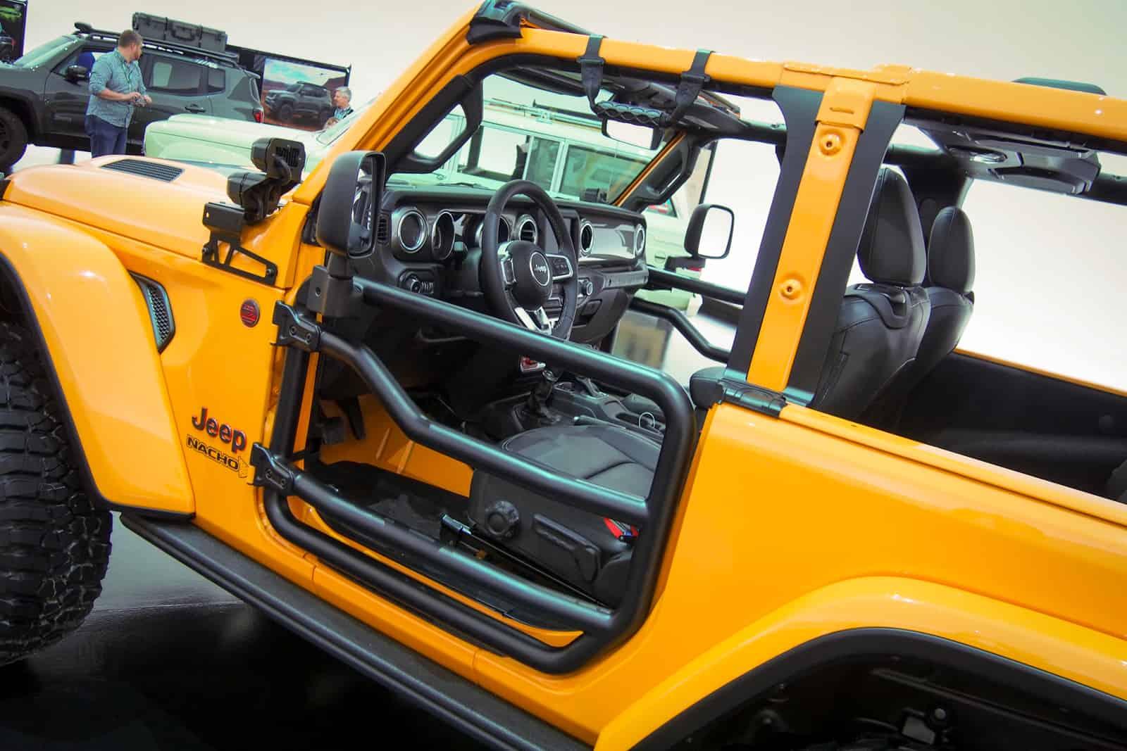 Пасхальные зайцы от Jeep. Новая семерка шоу-каров
