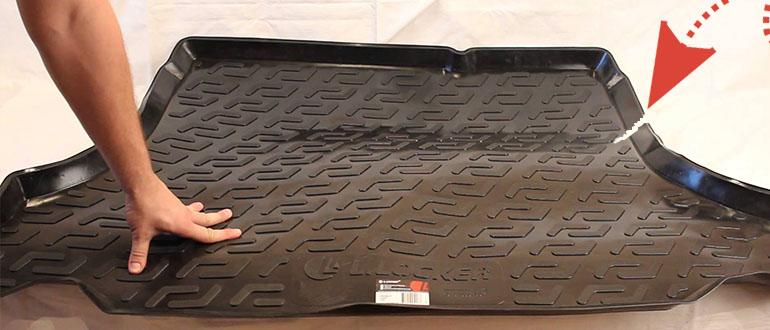 ремонт резинового коврика