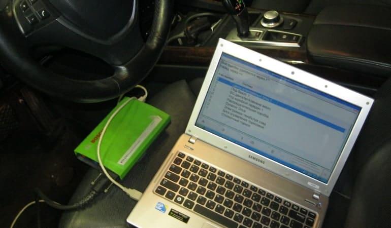 Диагностика через ноутбук