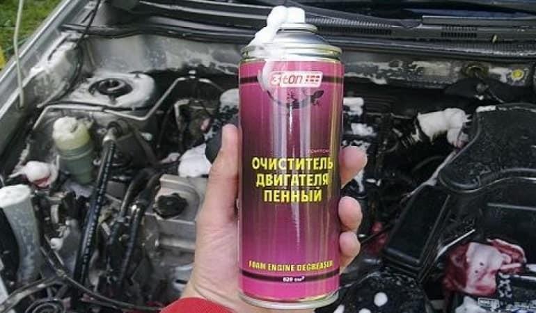 моющие средства для двигателя