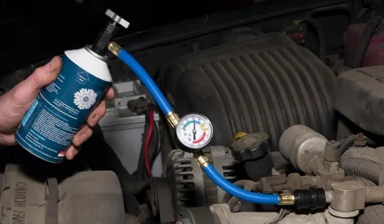 Как заправить кондиционер в машине своими руками