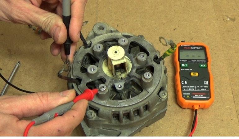 Все о ремонте двигателя генератора ВАЗ своими руками