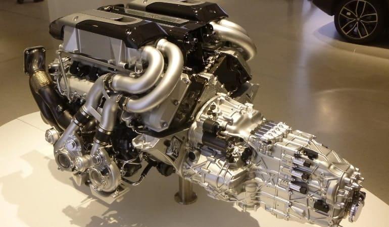 двигатель Бугатти Шерон