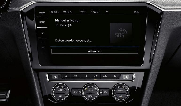 Volkswagen Arteon мультимедиа