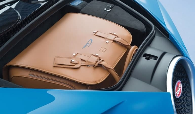 багажник Бугатти Шерон (Bugatti Chiron)