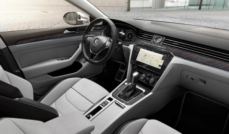 Volkswagen Arteon интерьер
