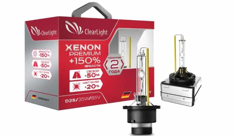 Clearlight Xenon Premium +150%