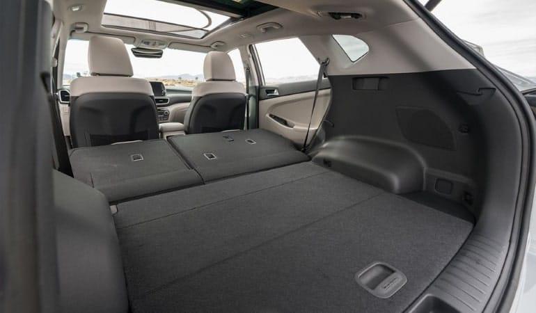 багажник Хендай Туссан 2018 (Hyundai Tucson)