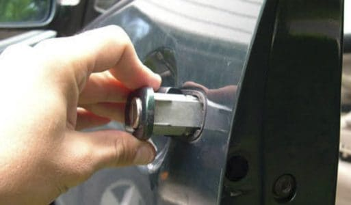 ремонт замка двери авто