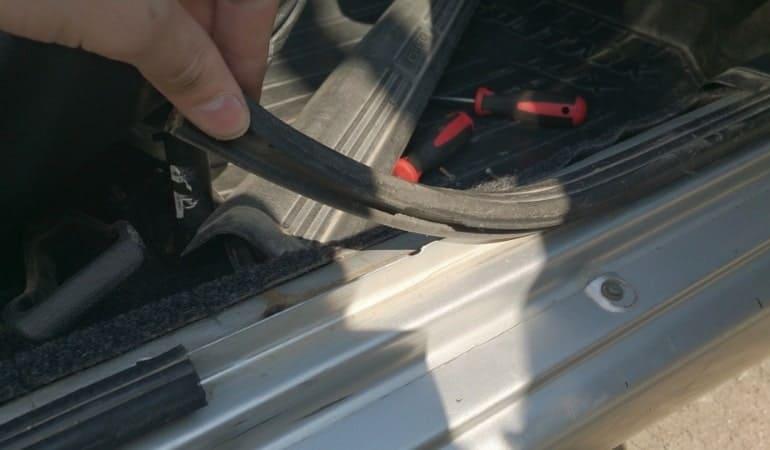 ремонт уплотнителя