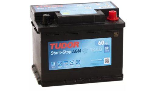 TUDOR AGM Start-Stop TK600