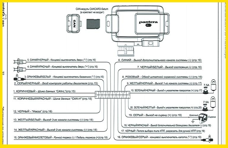 Схема для модели PR-2