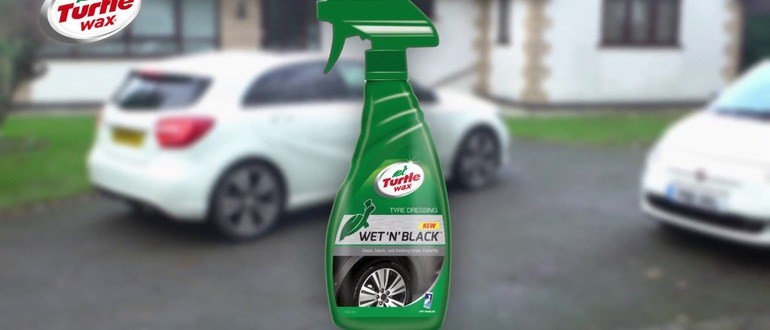 Черный лоск Turtle Wax WET N BLACK AERO