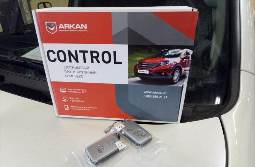 Автомобильная сигнализация Arkan