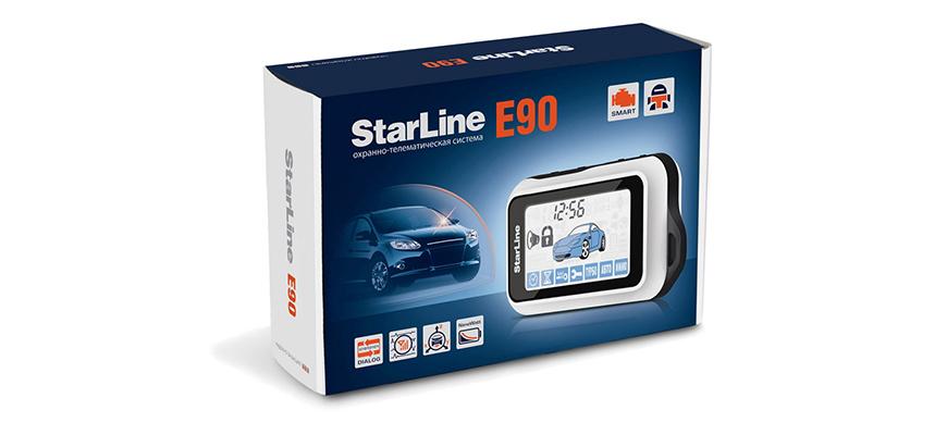 Автомобильная сигнализация Starline