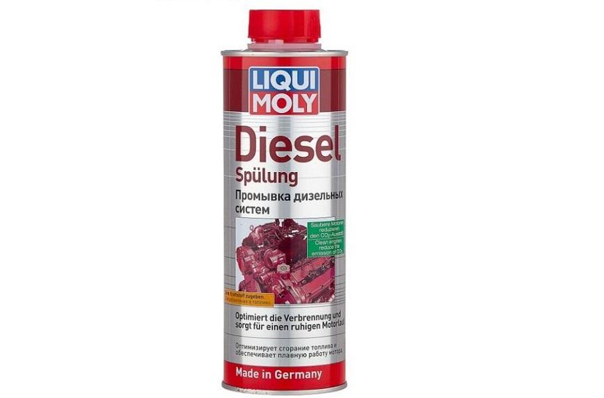Присадка для дизельного топлива LIQUI MOLY DIESEL SPULUNG