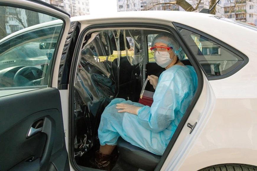 Автомобиль государственному медперсоналу