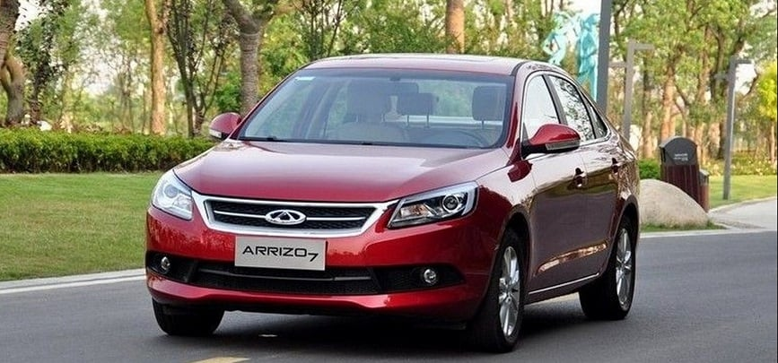 Лучший китайский автомобиль chery arrizo 7