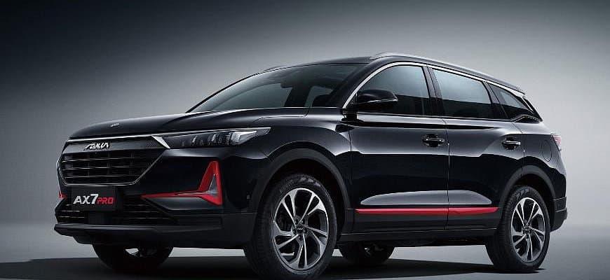 Лучший китайский автомобиль DFM AX7