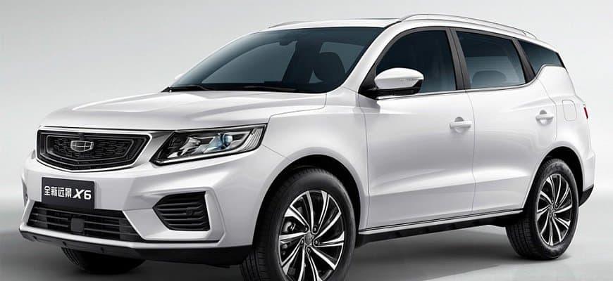 Лучший китайский автомобиль geely emgrand x7