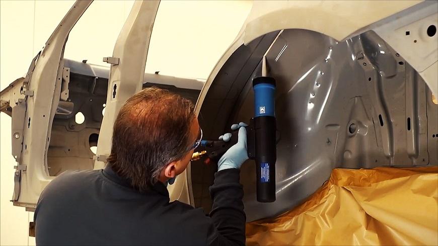 Акриловые шовные герметики для автомобиля