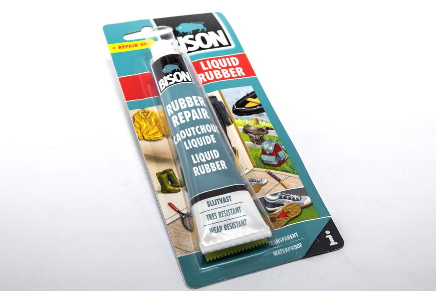 Герметик для ремонта шин bison liquid rubber crd 50ml2