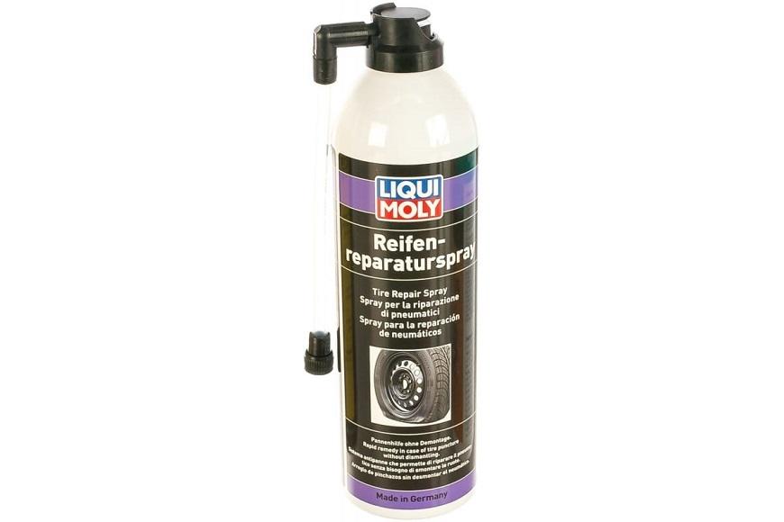 Герметик для ремонта шин liqui moly reifen reparatur spray
