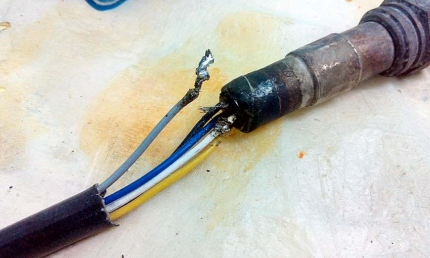 Поломка проводки к датчику кислорода