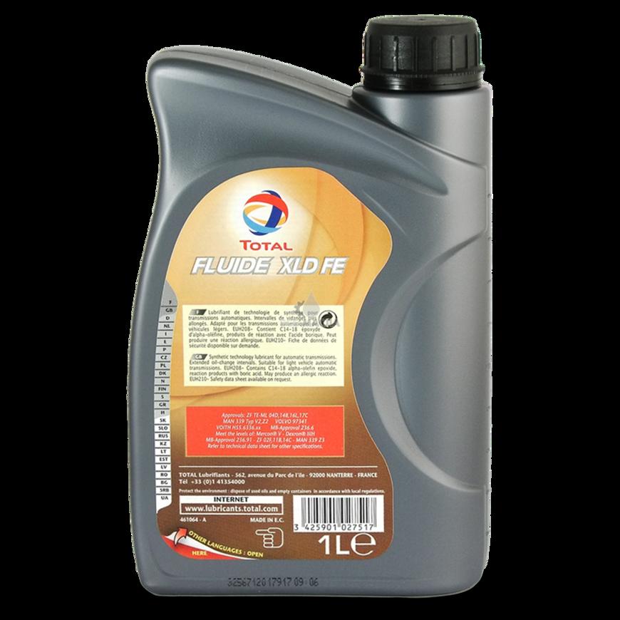 Лучшее трансмиссионное масло total fluide xld fe