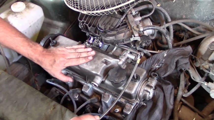 Потряхивание мотора