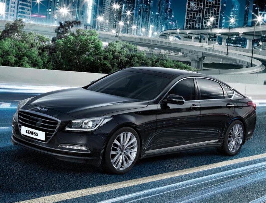 Hyundai genesis лучшая машина для работы в такси